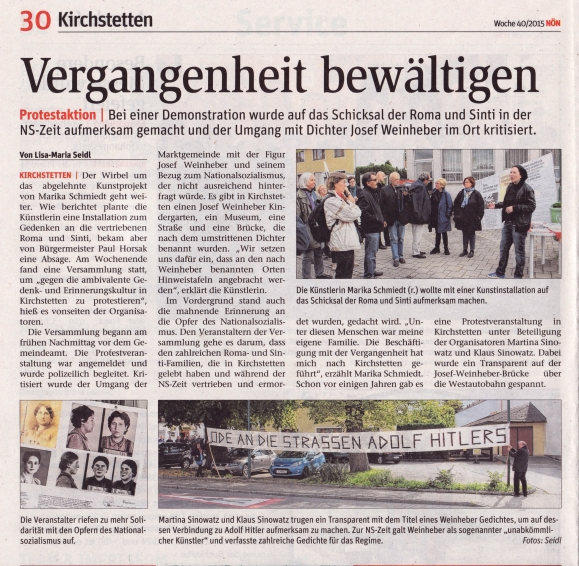 NÖN Demo Kirchstetten